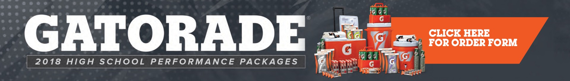 Gatorade High School Performance Packages Banner