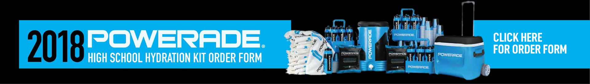 Powerade High School Performance Packages Banner